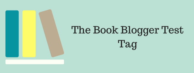 The Book Blogger Test Tag